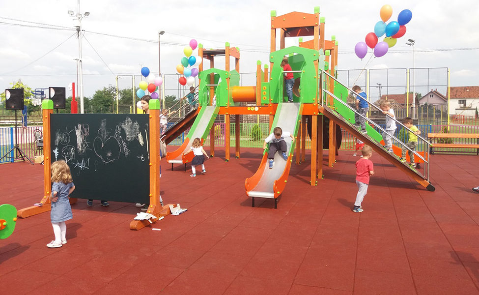 Dečja igrališta u Srbiji
