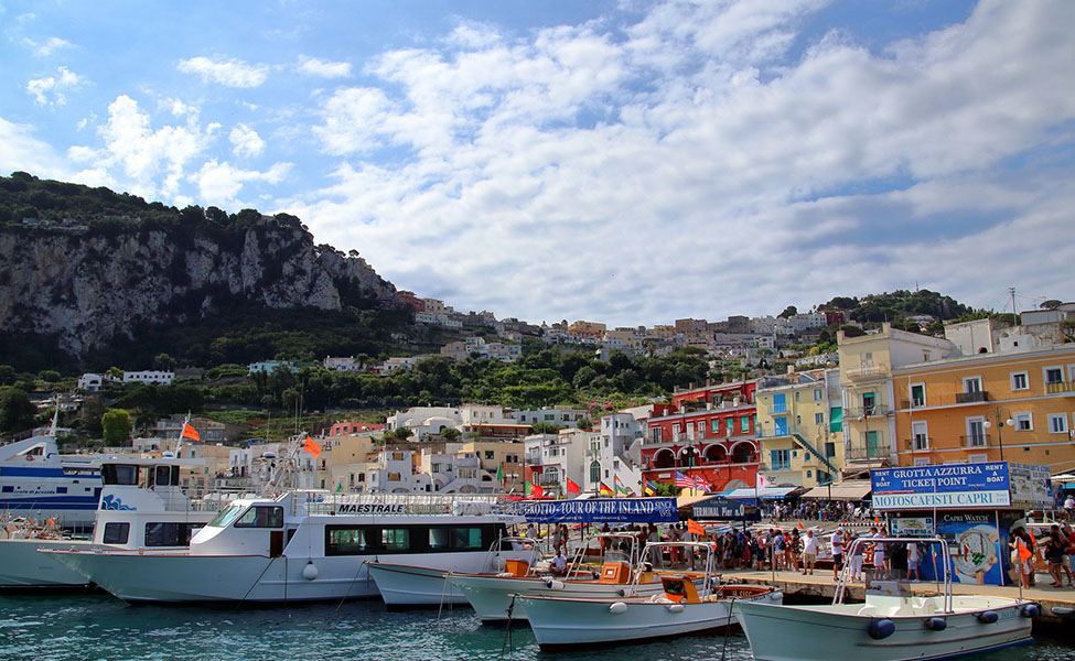 Beach in Capri