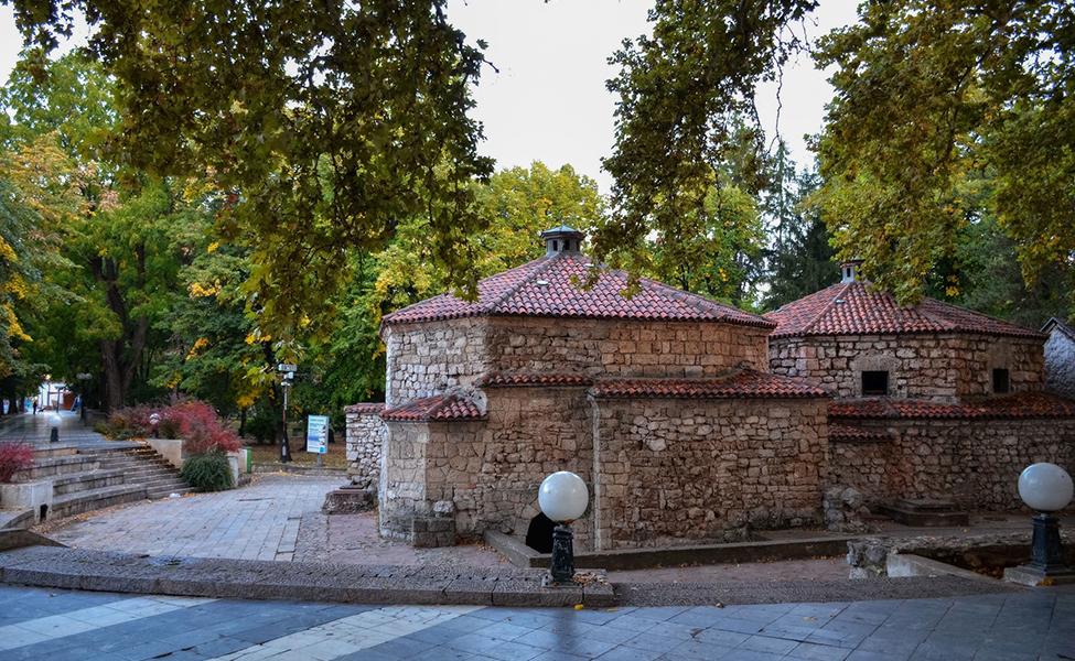 Staro, tursko kupatilo u centru banje
