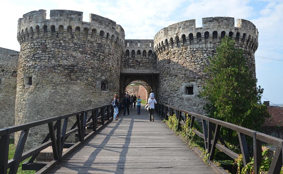 Most na Kalemegdanskoj tvrđavi