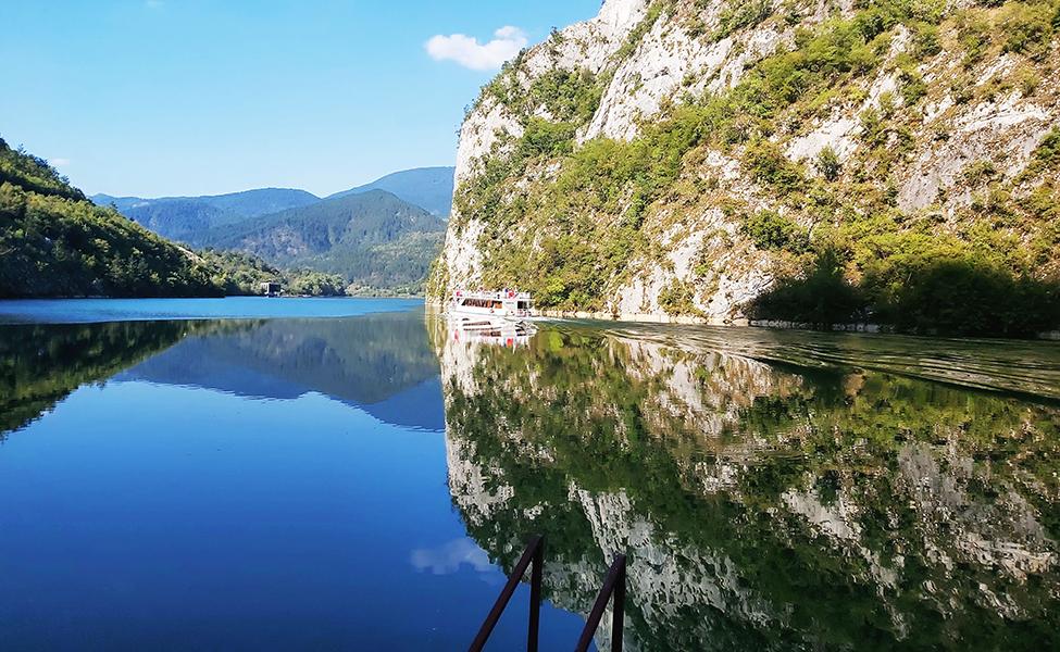 Pogled na plavi Dunav