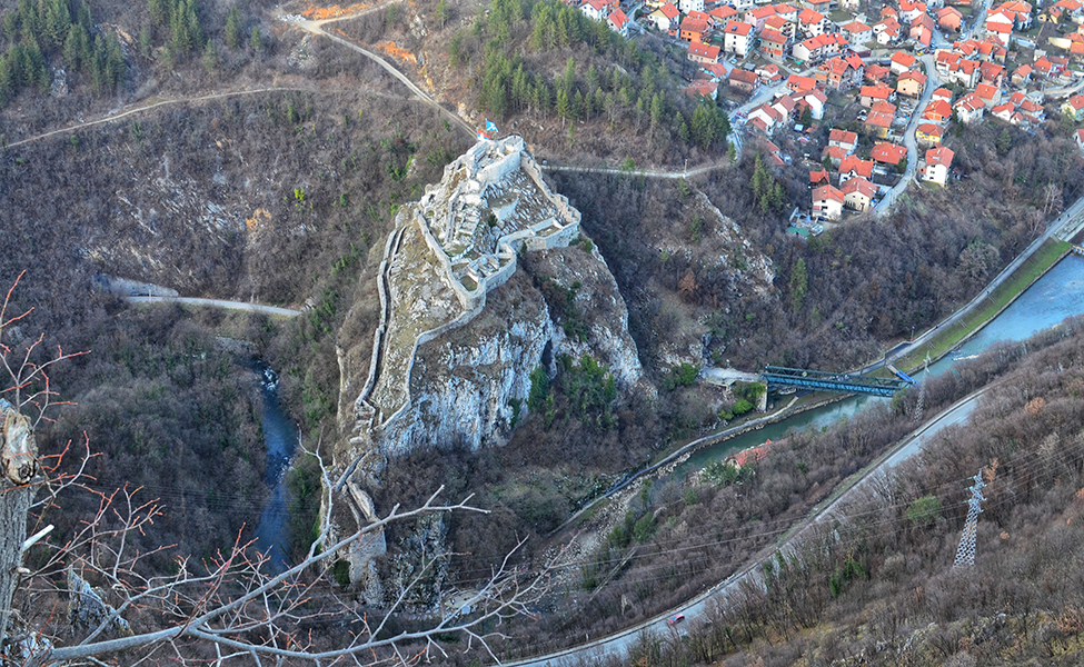 Pogled na Užičku tvrđavu
