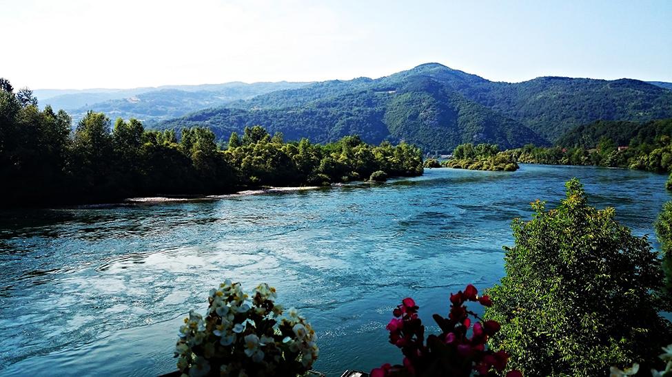 Pogled na najlepši deo reke Drine