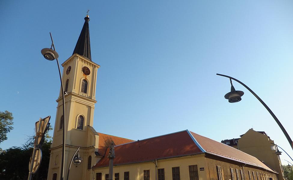 Centar grada Pančeva