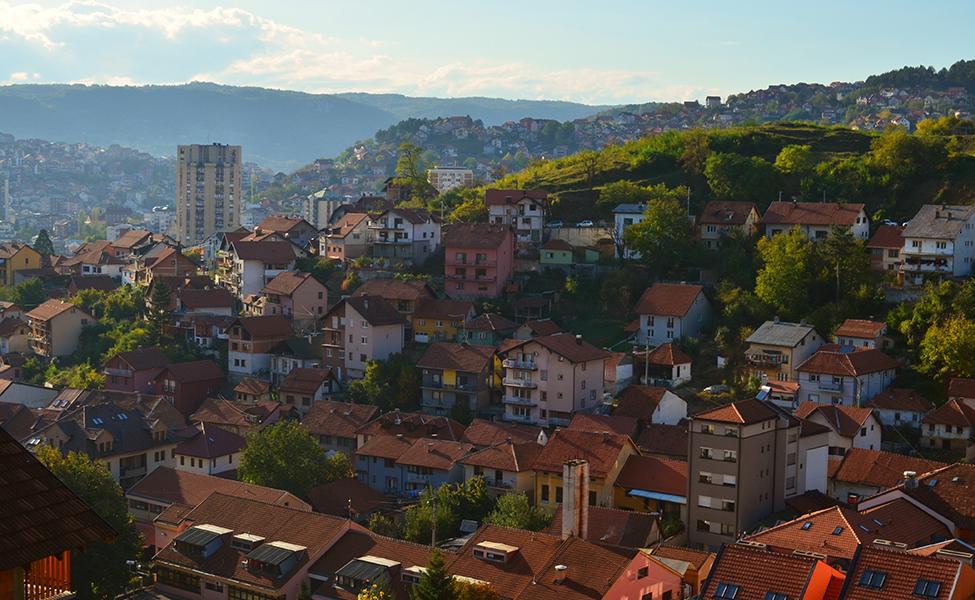 Panorama grada Užica
