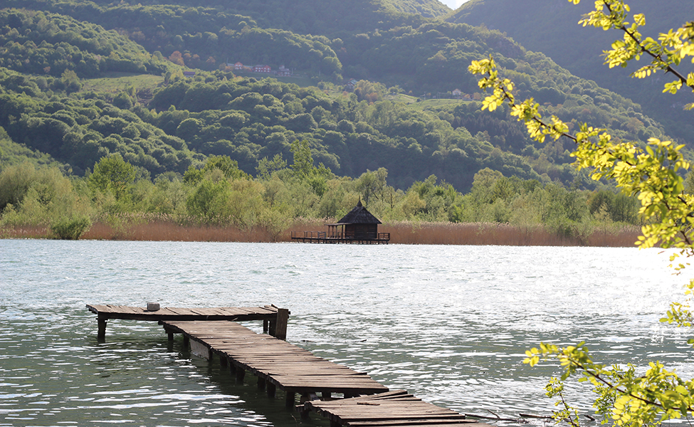 Jezero kod Malog Zvornika