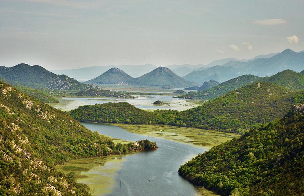 Pogled na Đerdapsko jezero