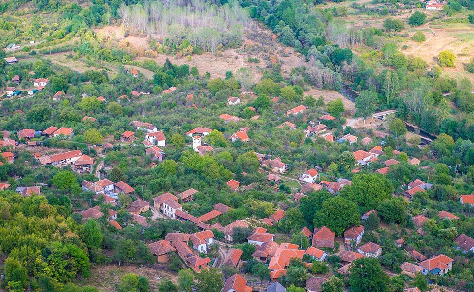 Selo Vlasi - panorama