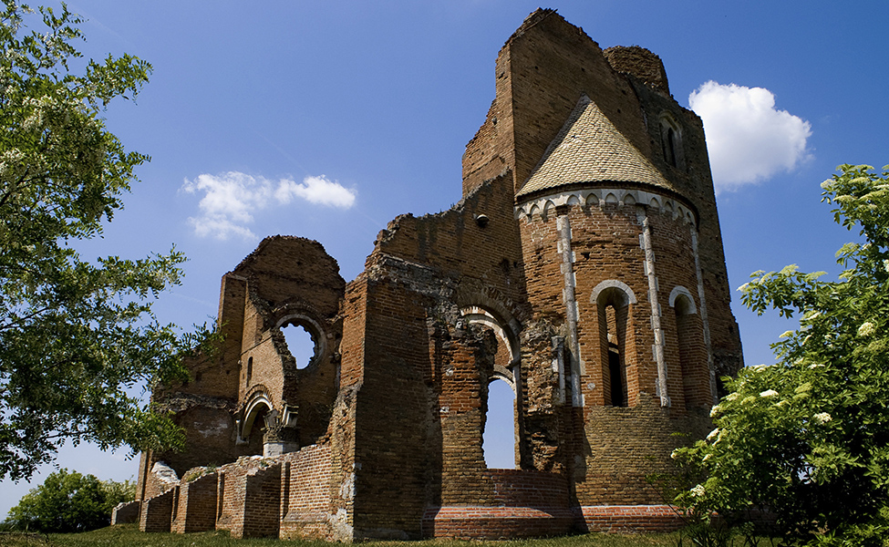 Ostaci nekadašnje crkve u Arači