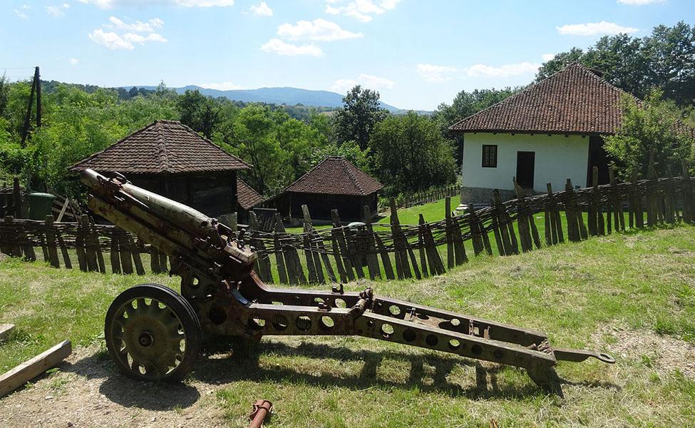 Selo Struganik - kuća Živojina Mišića