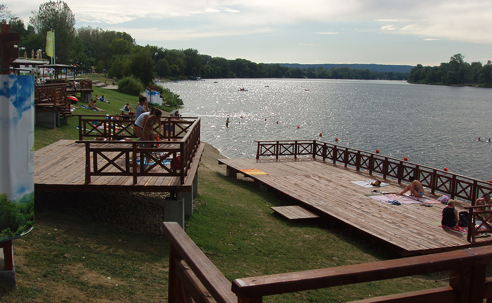 Leto na Srebrnom jezeru, letnje aktivnosti