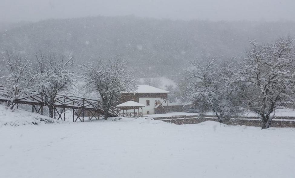 Zima u etno-selu Stara planina