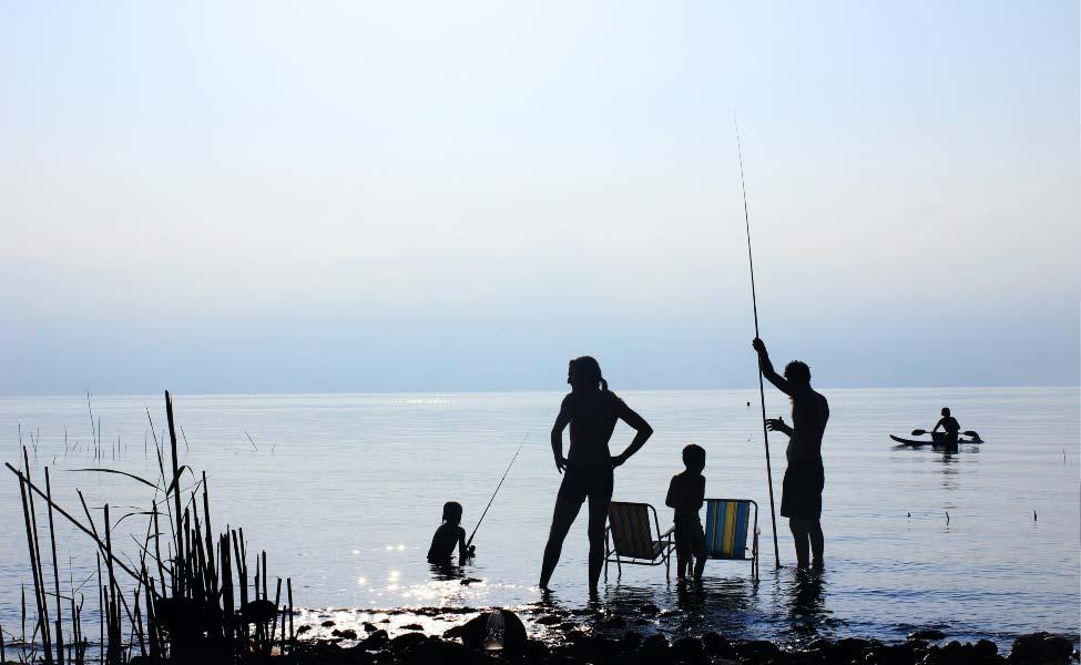 Porodični odmor na vodi