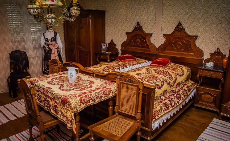 Izložbena soba u Dida Hornjakovom salašu