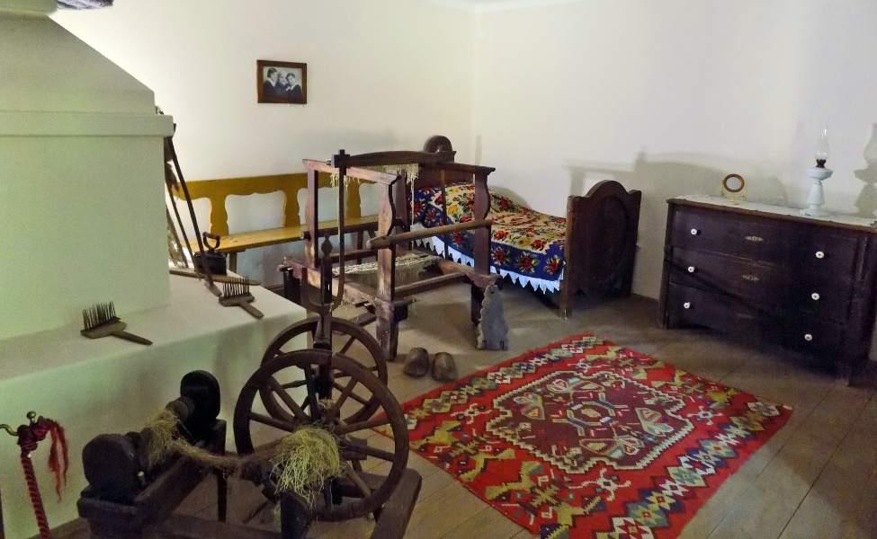 Starinska soba Mihaila Pupina u Idvoru