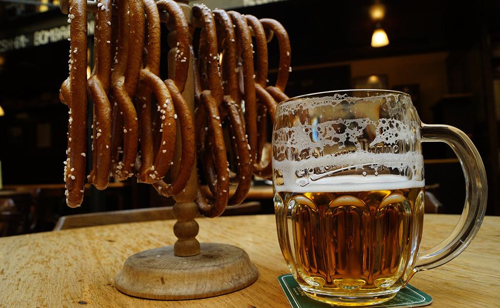Food and beer in Prague