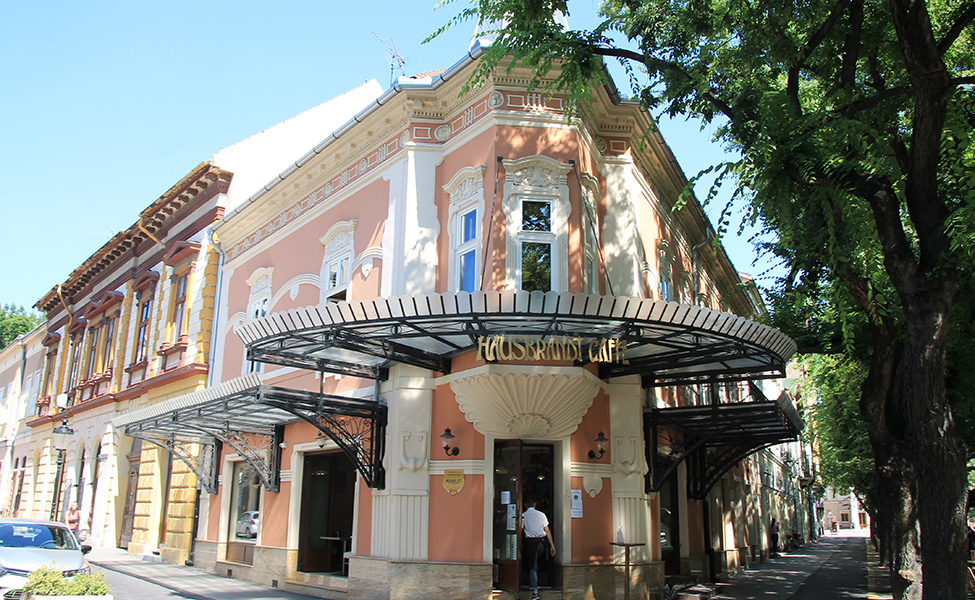 Grad Subotica, građevine