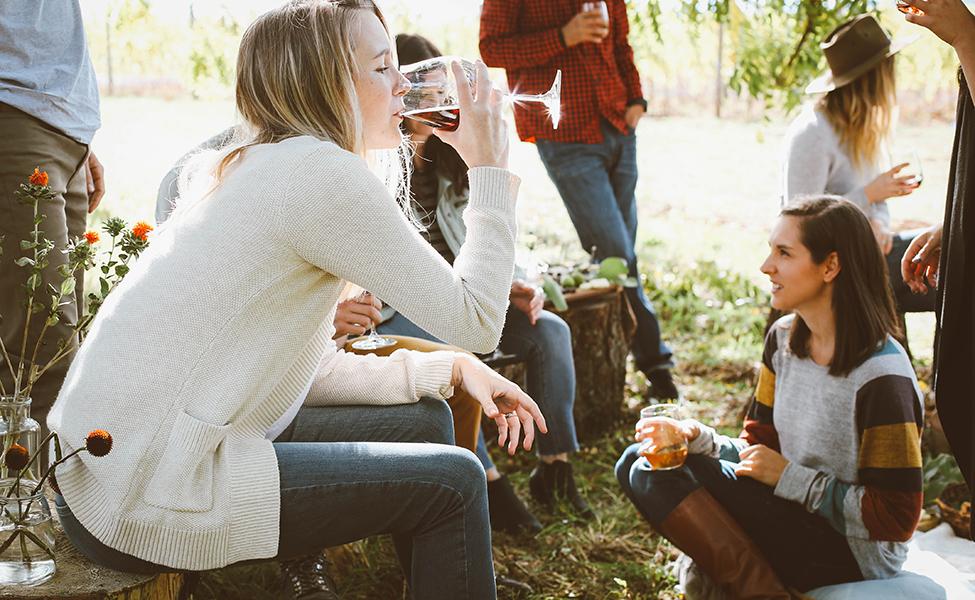 Okupljanje u čast vinu i degustacija vina
