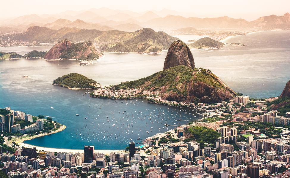 A view of Rio de Janeiro