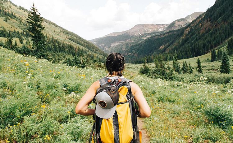 Planinarenje po planinama i nestvaran pogled