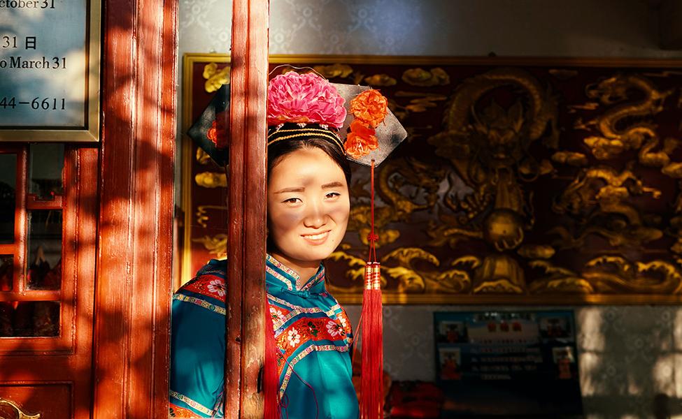 Pretty China girl