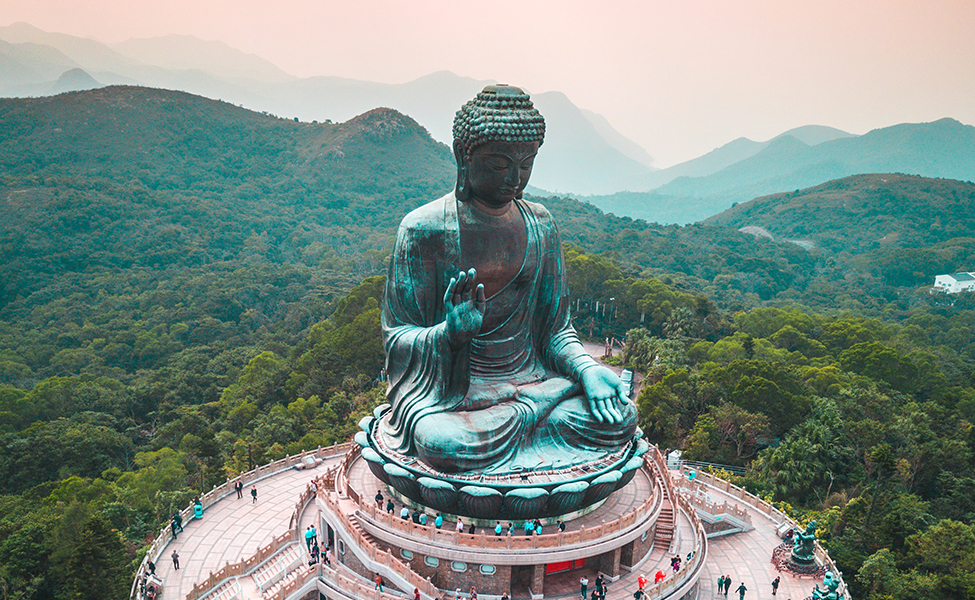 Famous monuments in China