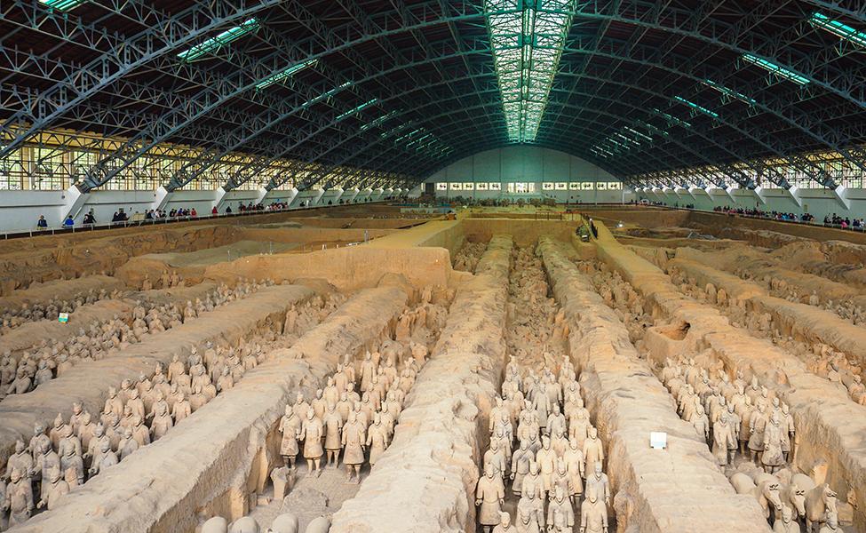 Terracotta Warriors of China