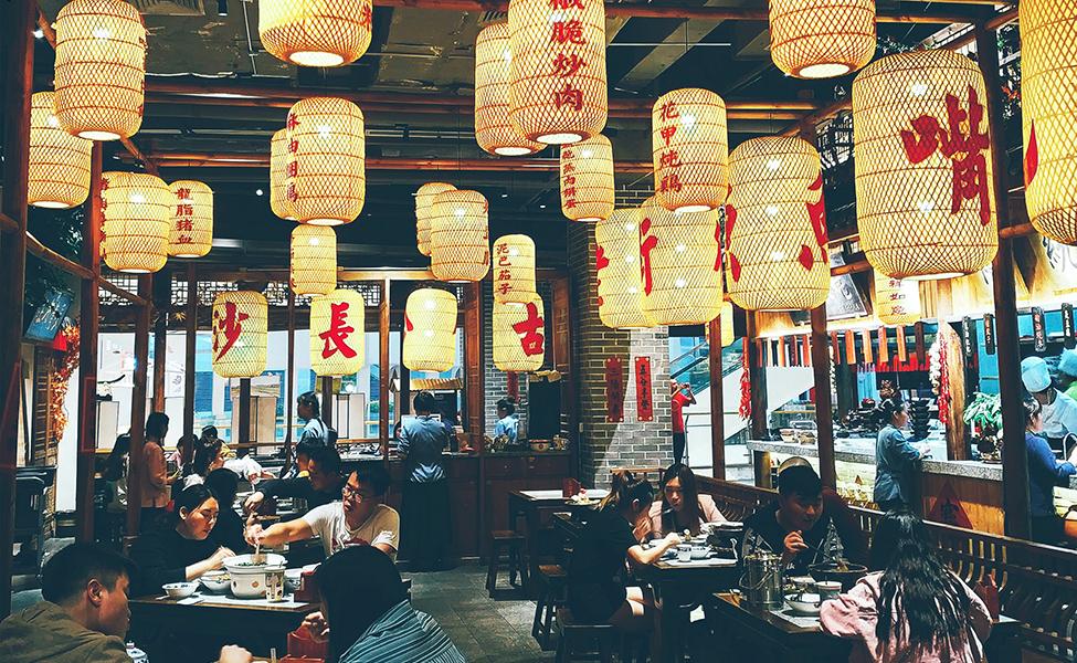 Restaurant in China