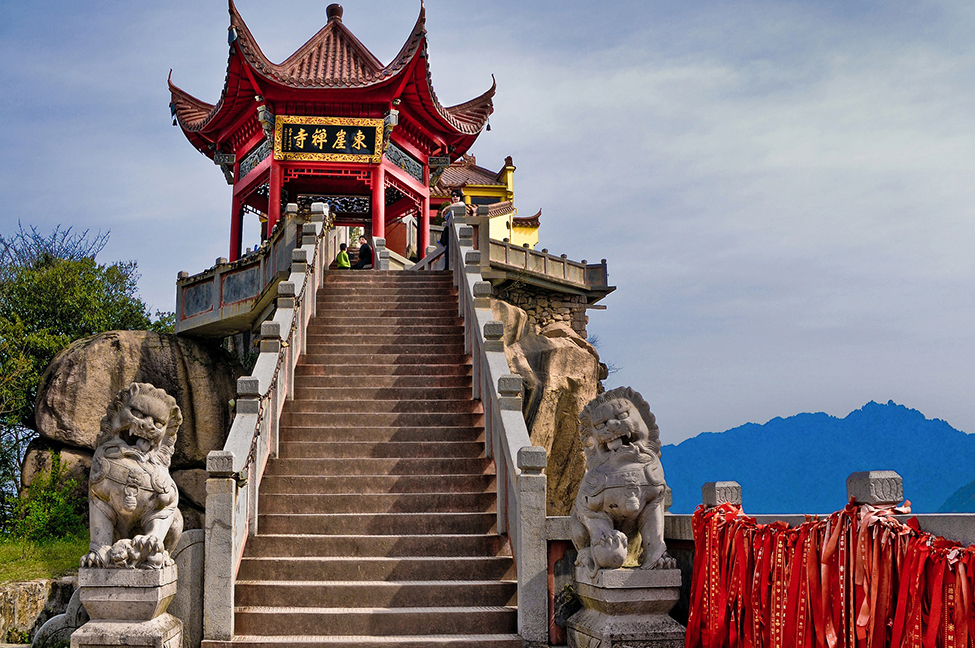 China temple that represents tradition