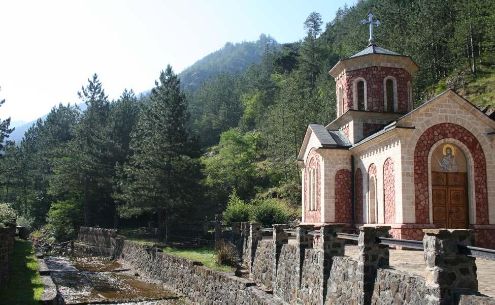 Crkvica Svetog Jovana Krstitelja pored izvora bele Vode