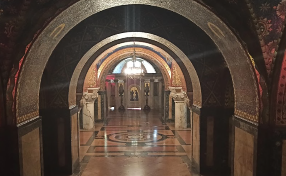 mauzolej i kripta ispod crkce Svetog Đorđa
