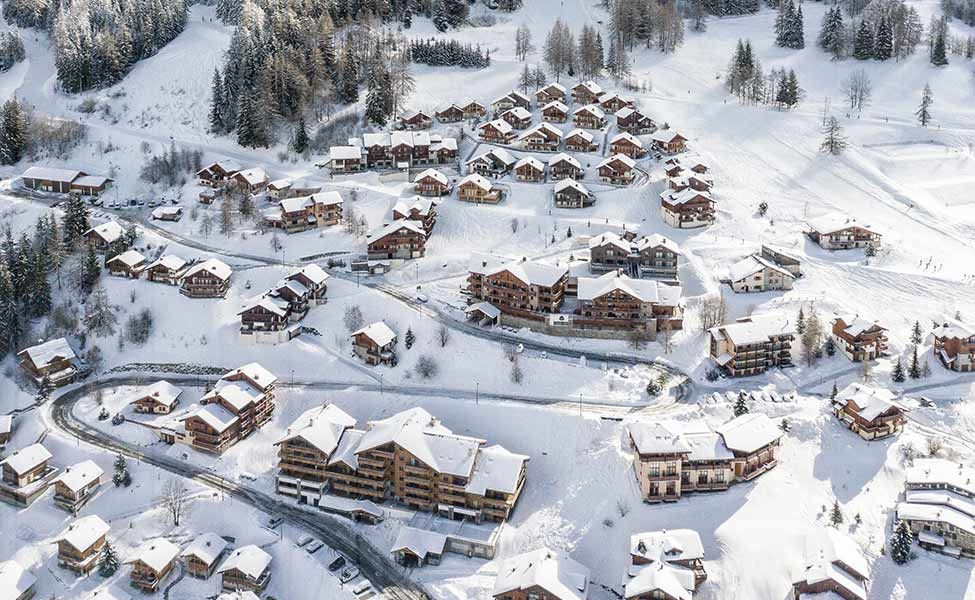 Best hotels in the ski resorts during the winter