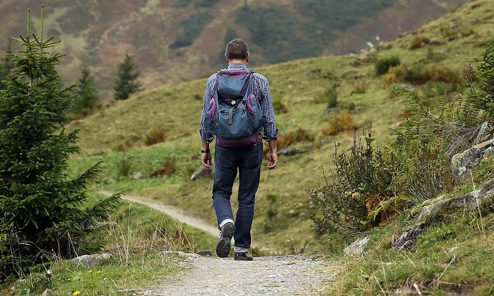 Planinar ide u planinu
