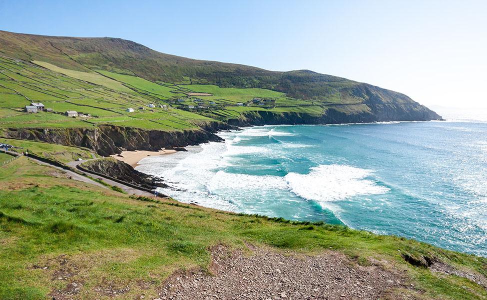 Ireland coastline and stunning cliffs