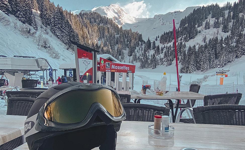 Morzine ski resort in the French Alps