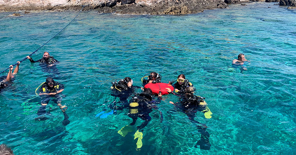 people go to scuba diving in Croatia