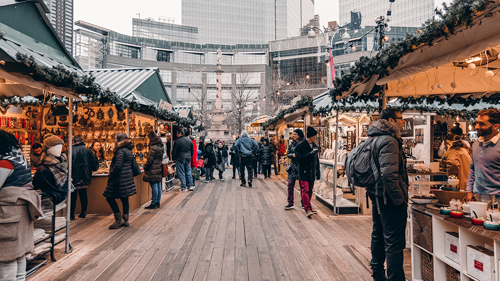 New York Christmas market