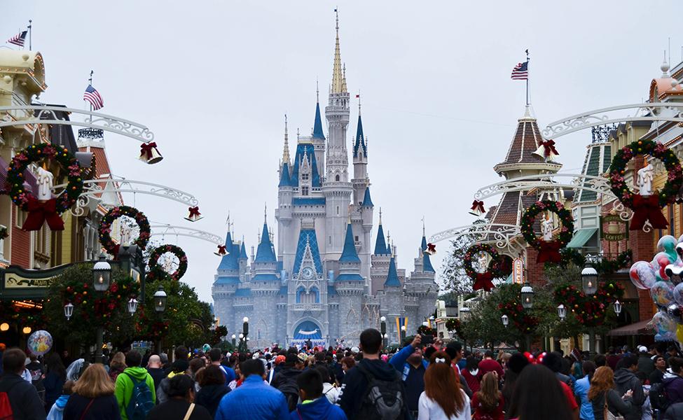 Festive season in Disney
