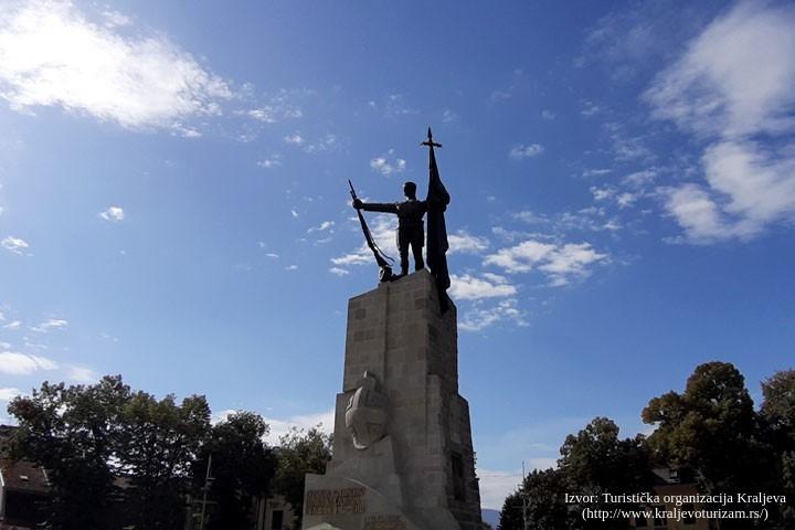 spomenik srpskim ratnicima-kraljevo